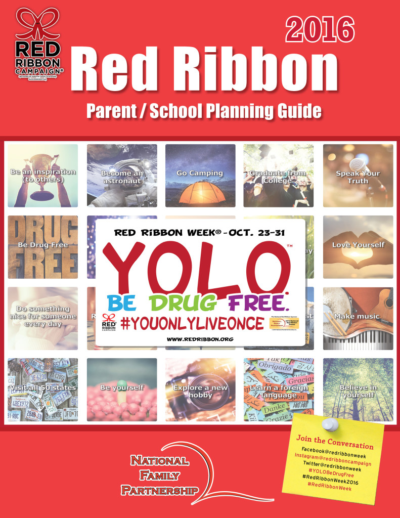 2016 Red Ribbon Guide Cover